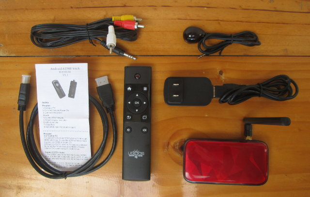 Ugoos UM3 and Accessories (Click to Enlarge)
