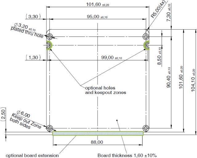 eNUC Dimensions
