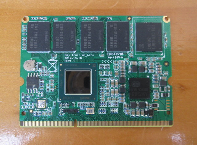 Bay Trail CPU Module (Click to Enlarge)