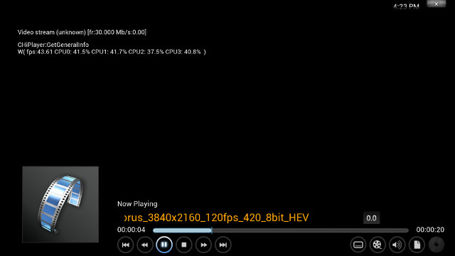 XBMC Debug in Hisilicon Hi3798M (Click to Enlarge)