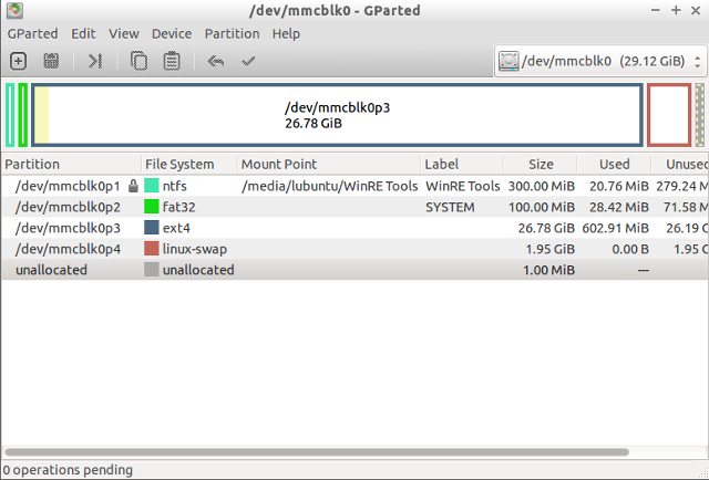 MeLE_PCG03_Ubuntu_Partitions