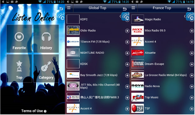 EZCast / EZMusic Radio (Click to Enlarge)