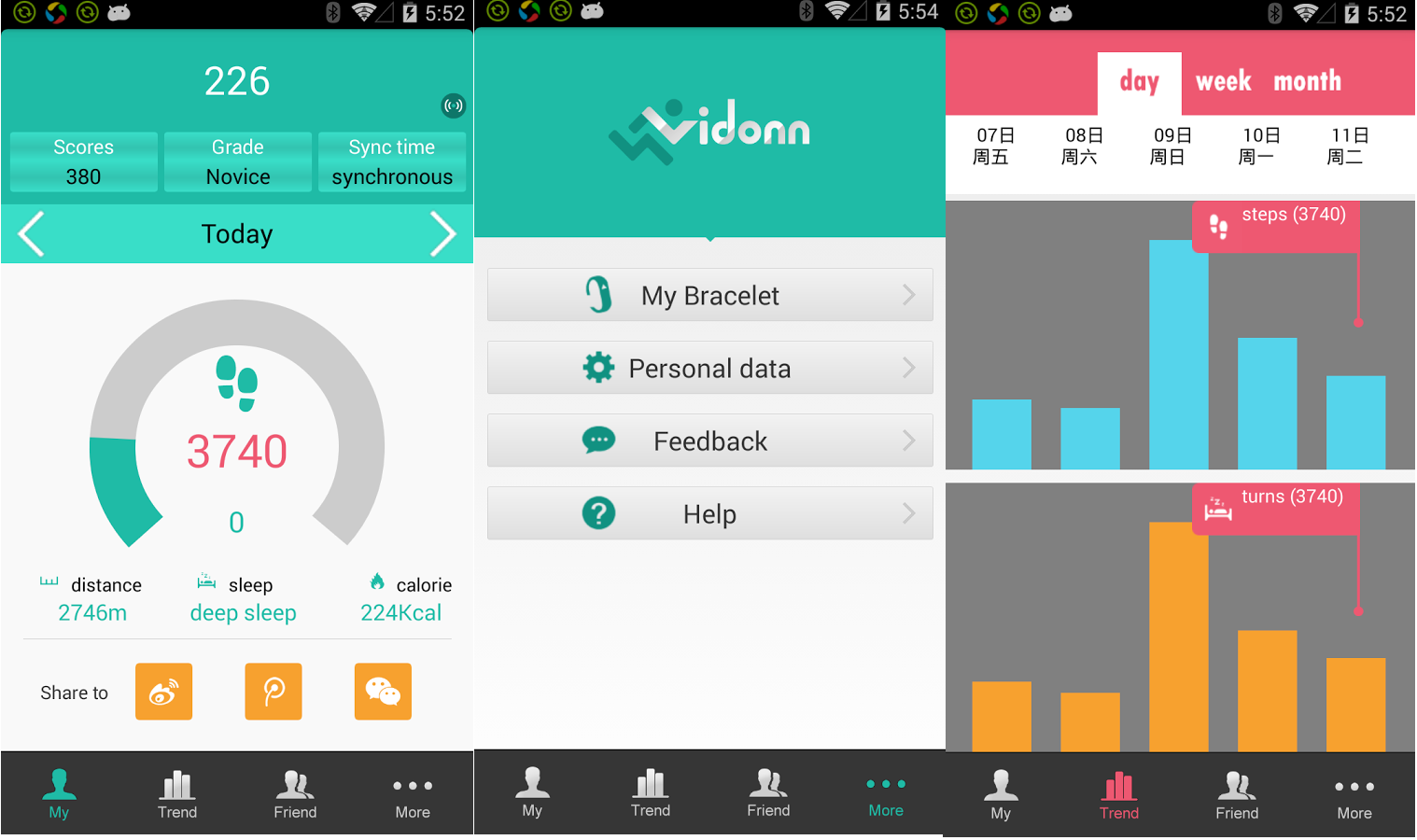 Android app (Click to Enlarge)