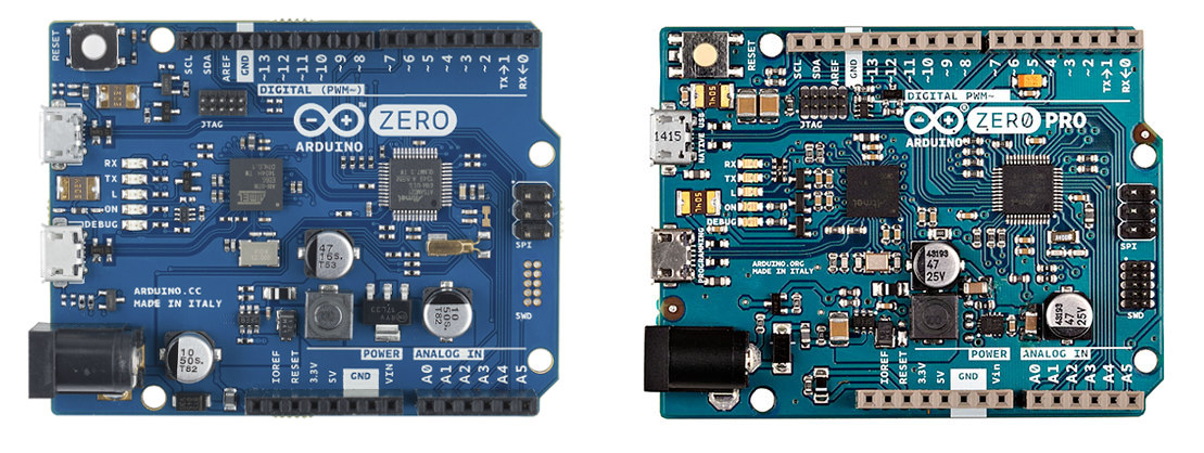 Arm cortex m based arduino zero pro board gets listed on