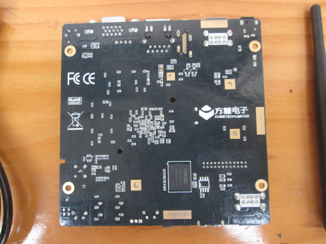 Bottom of CC-A80 Board (Click to Enlarge)