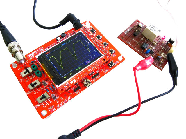 DSO138_Oscilloscope_Assembled
