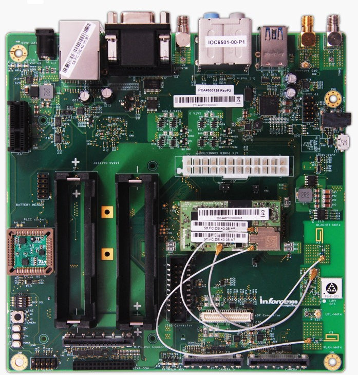 SYS6501 Carrier Board with 6501 micro SOM