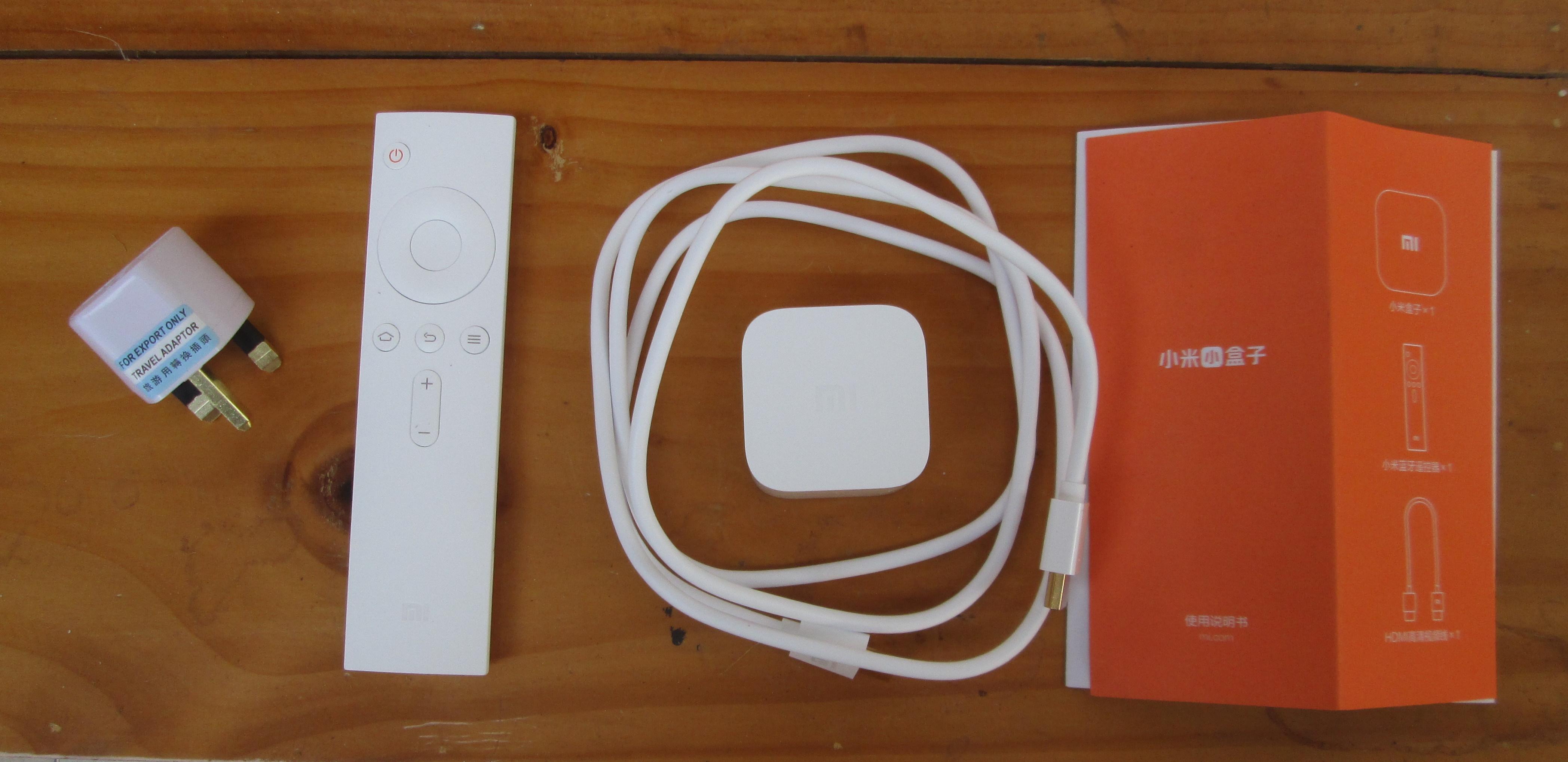Xiaomi Mi Box Mini Unboxing