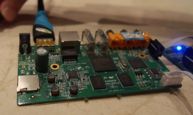 ZX296702_Development_Board