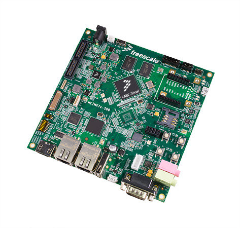SABRE board for Freescale i.MX 7 processors