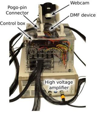 DropBot open-source Digital Microfluidic (DMF) automation system