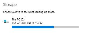 Free_Space_Windows_10
