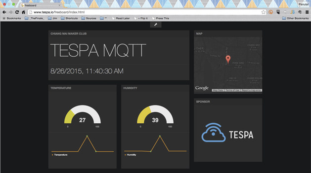 TESPA Hawk IoT Board Combines ESP8266 with STM32 MCU in an