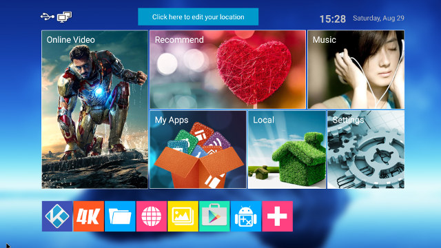 MediaBox Launcher (Click for Orignial Size)