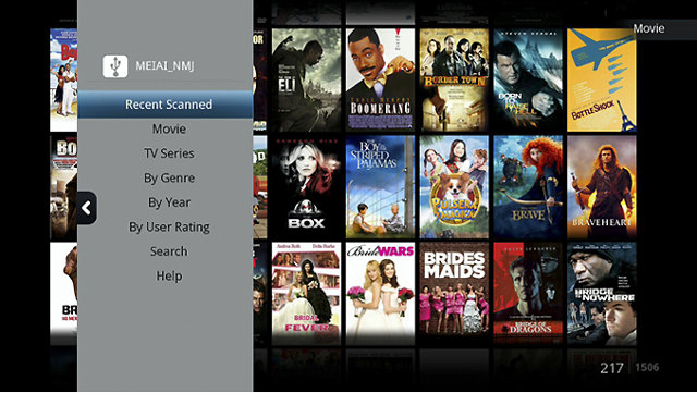 Movie Jukebox App in Linux