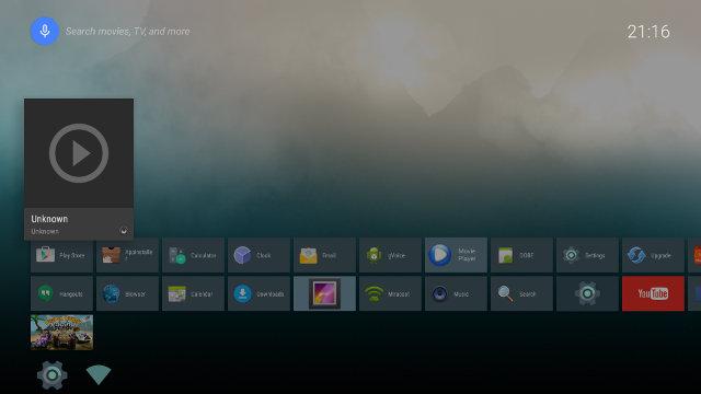 """Home Screen"" Launcher (Click for Original Size)"