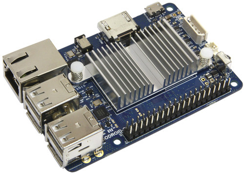 Picture of ODROID-C1+ (Not ODROID-C2 pic yet)