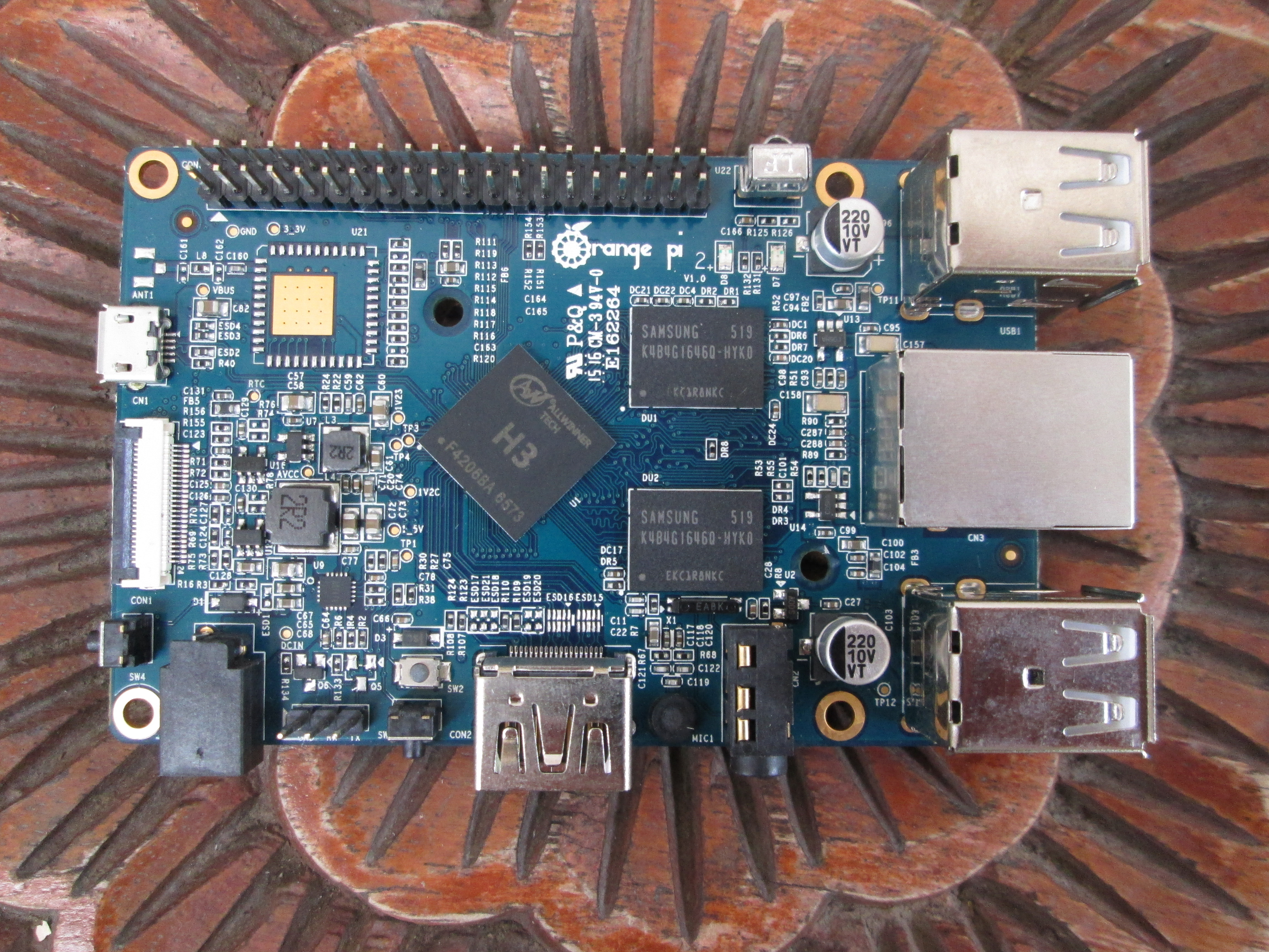 Getting Started With Orange Pi Pc Pi 2 And Pi Plus