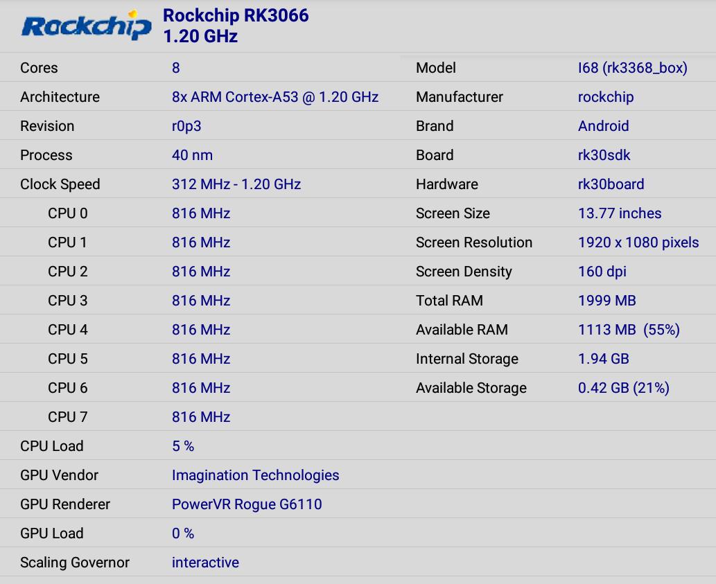 Rockchiup_RK3368_Beelink_i68_CPU-Z