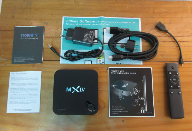 MX4 Telos and Accessories (Click to Enlarge)