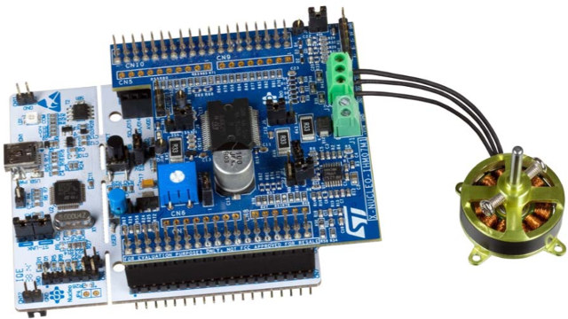 STMicro_Motor_Control_Nucleo_Pack