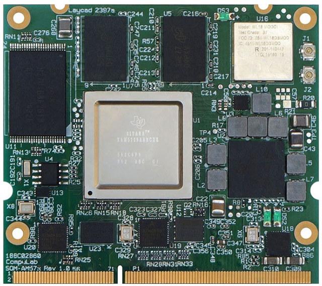 Compulab SOM-AM57X with AM5728 Processor