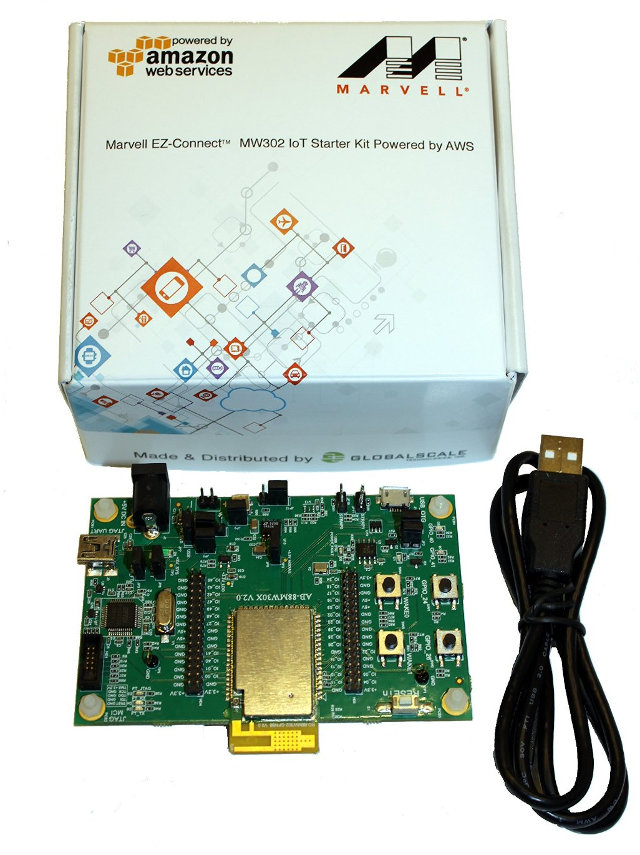 Marvell MW302 IoT Starter Kit (Click to Enlarge)