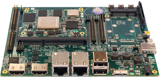SBC-AM57X Single Board Computer (Click to Enlarge)
