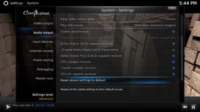 Zidoo_X6_Pro_Kodi_15.1_Audio_pass-through