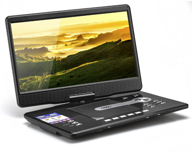 low cost 15 6 portable dvd player could be used as a cheap battery powered hdmi display. Black Bedroom Furniture Sets. Home Design Ideas
