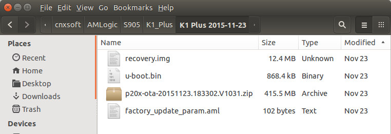 Amlogic_S905_Firmware_Upgrade_Files