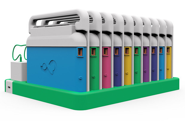 Infinity Laptops in Charging Dock