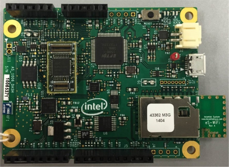 Intel Quark D1000 Customer Reference Board And Intel