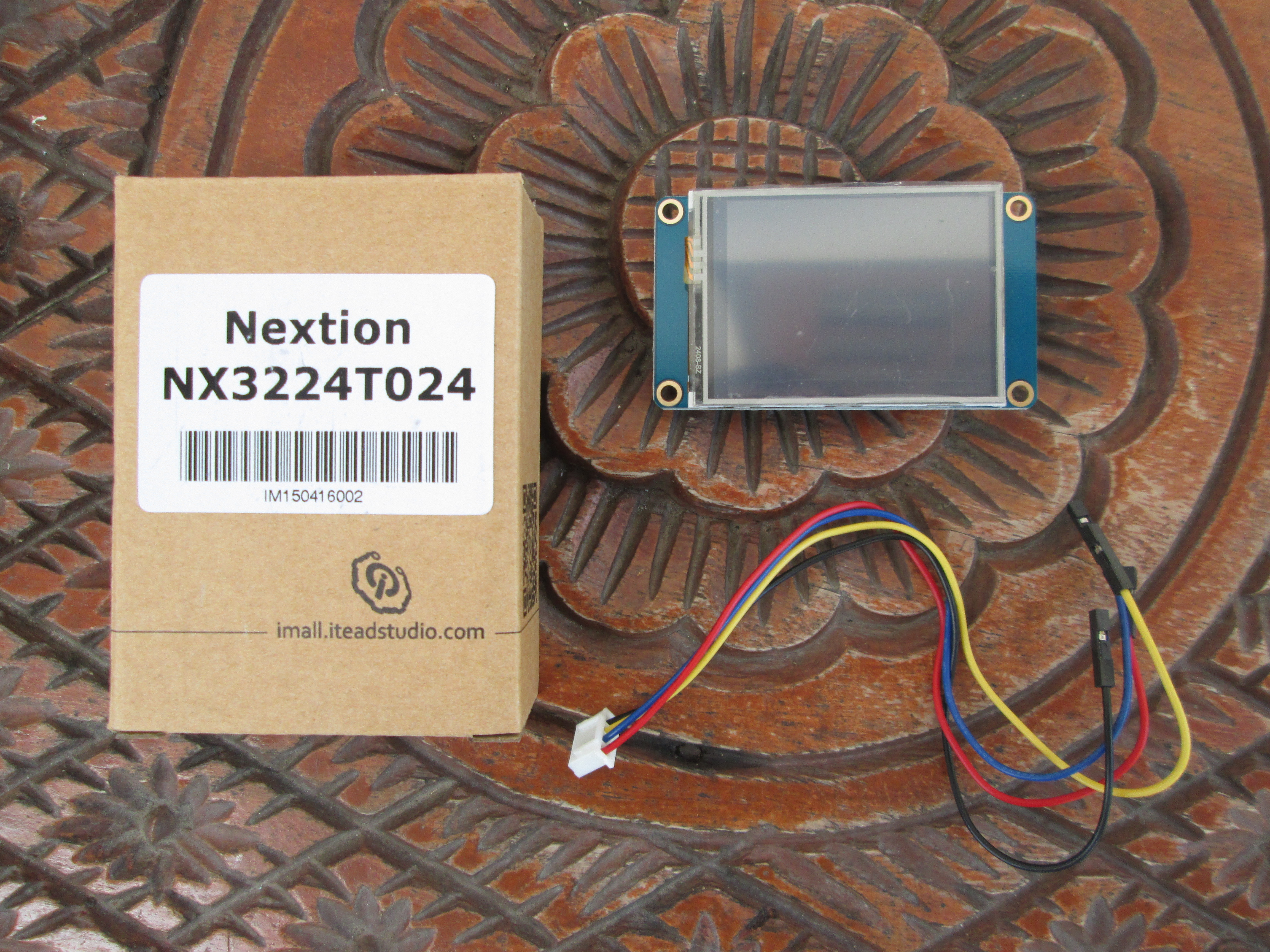 How To Use Nextion Serial Touchscreen Displays Part 1 Standalone Mode Schematic Of The Rs232 Adapter Click Enlarge