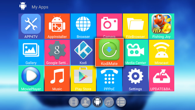 Some of Pre-installed Apps
