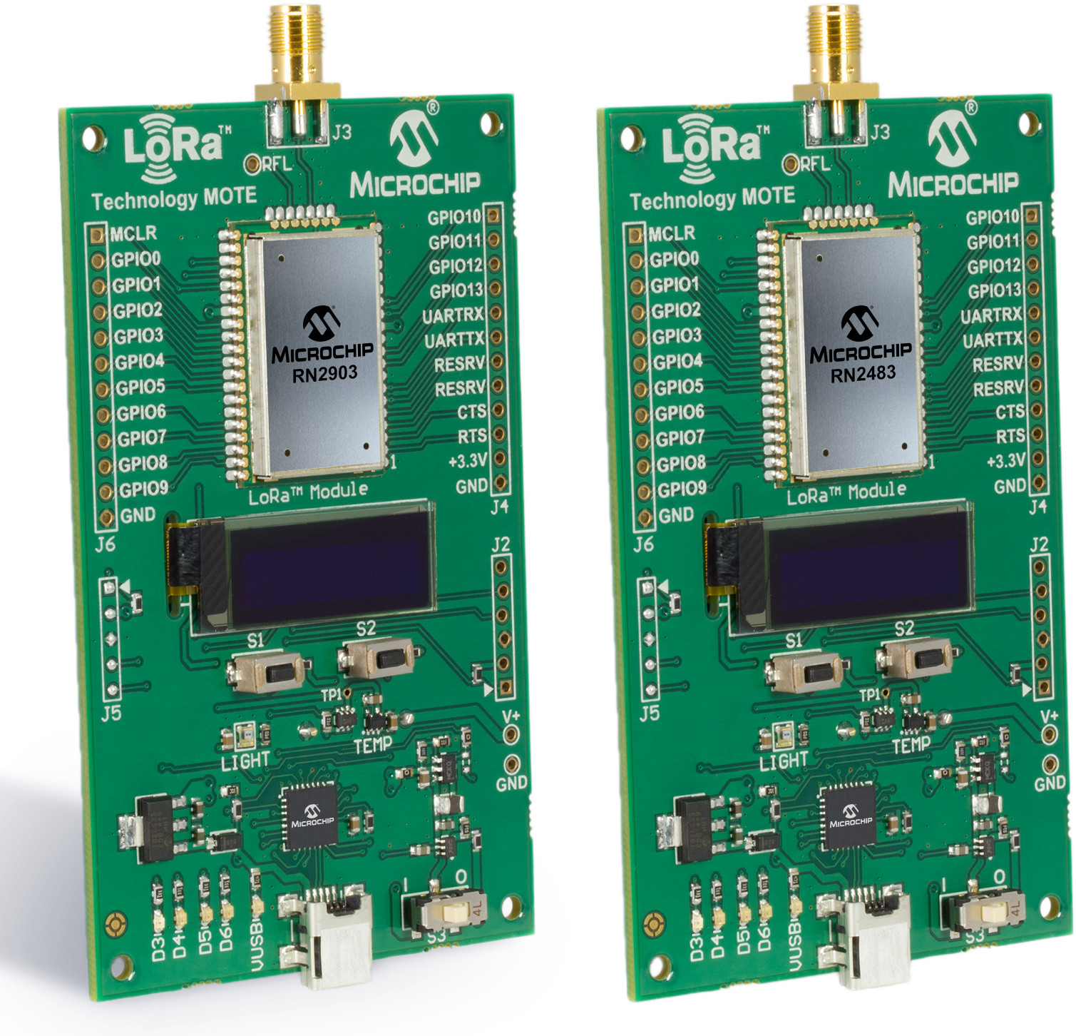 Microchip Introduces 11 Rn2483 Amp Rn2903 Lora Modules And