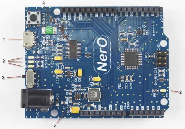 NerO_Arduino_Board