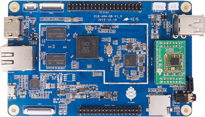 Image result for pine64 board