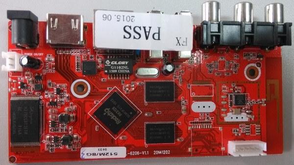 Red_Rockchip_RK3128_TV_Box_Board