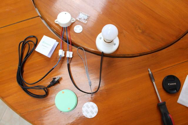 SimpleLink Self-powered Pwoer Swtich Kit (Click to Enlarge)