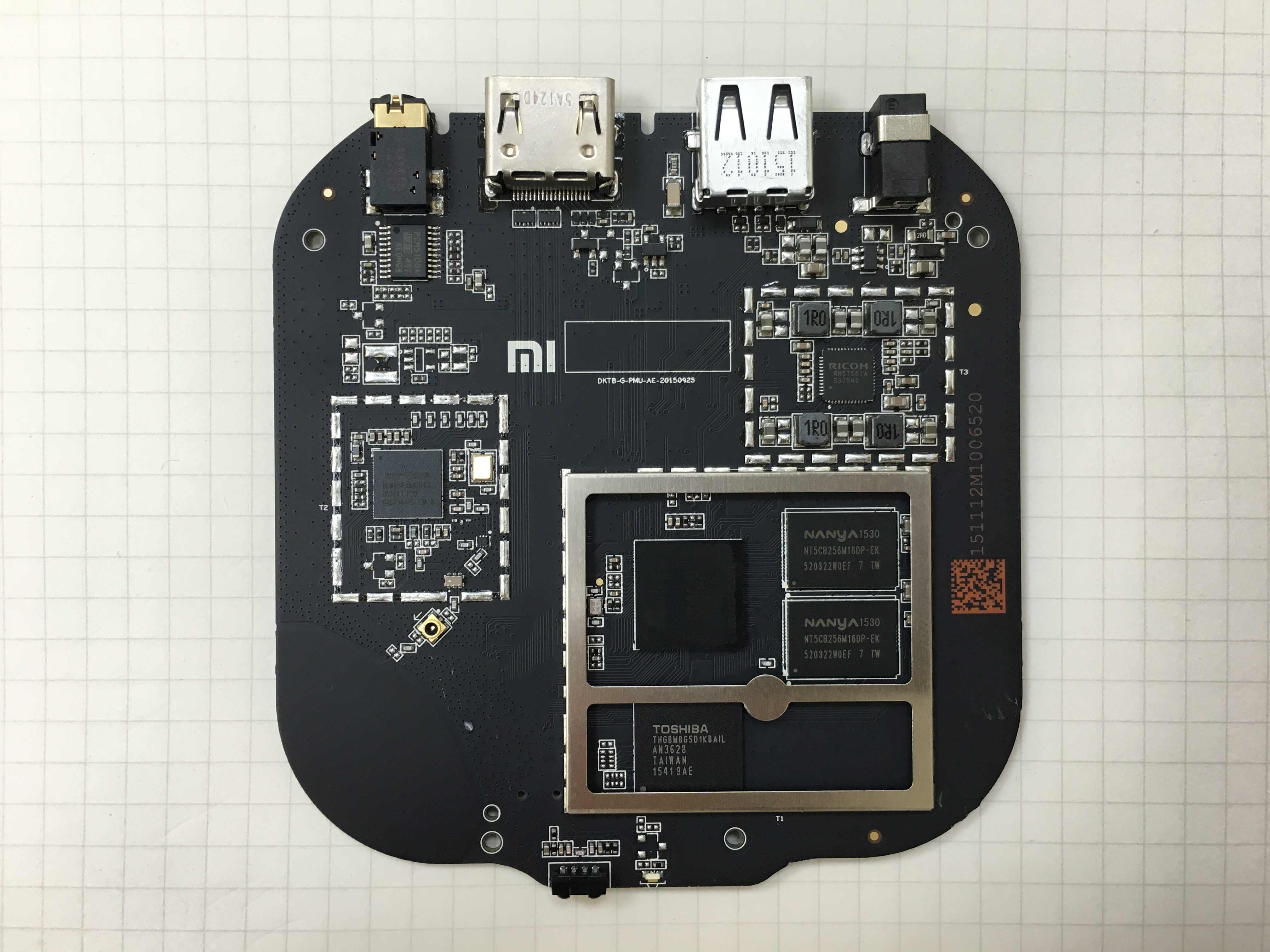 Xiaomi Mi 3 Tv Box Board S Pictures Reveal Amlogic S905 H