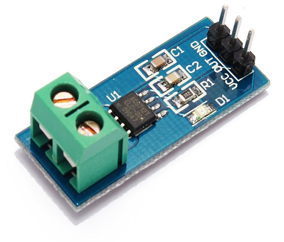 Acs712 Module Measures Currents Up To 30a For As Low As 1