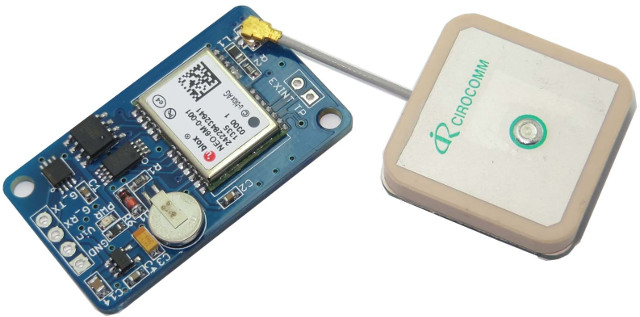 Ublox NEO-6M $10 GPS Module with Antenna Works with Arduino
