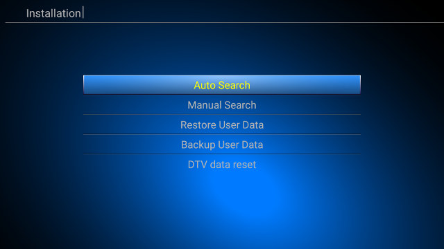 How to Configure DVB-S2 and DVB-T2 Tuners in K1 Plus Android