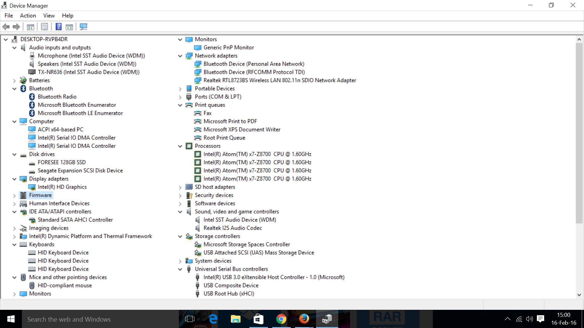 Voyo V3 Intel Atom x7-Z8700 mini PC Review with Windows 10