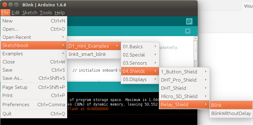 Arduino_Wemos_D1_mini_Relay_sample
