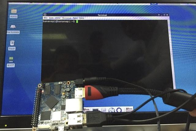 Debian in M2+ Board