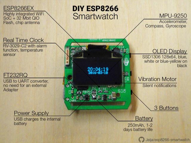 ESP8266_Smartwatch