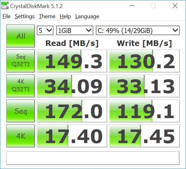 K3_Wintel_Keyboard_Computer_CrystalDiskMark_eMMC_flash