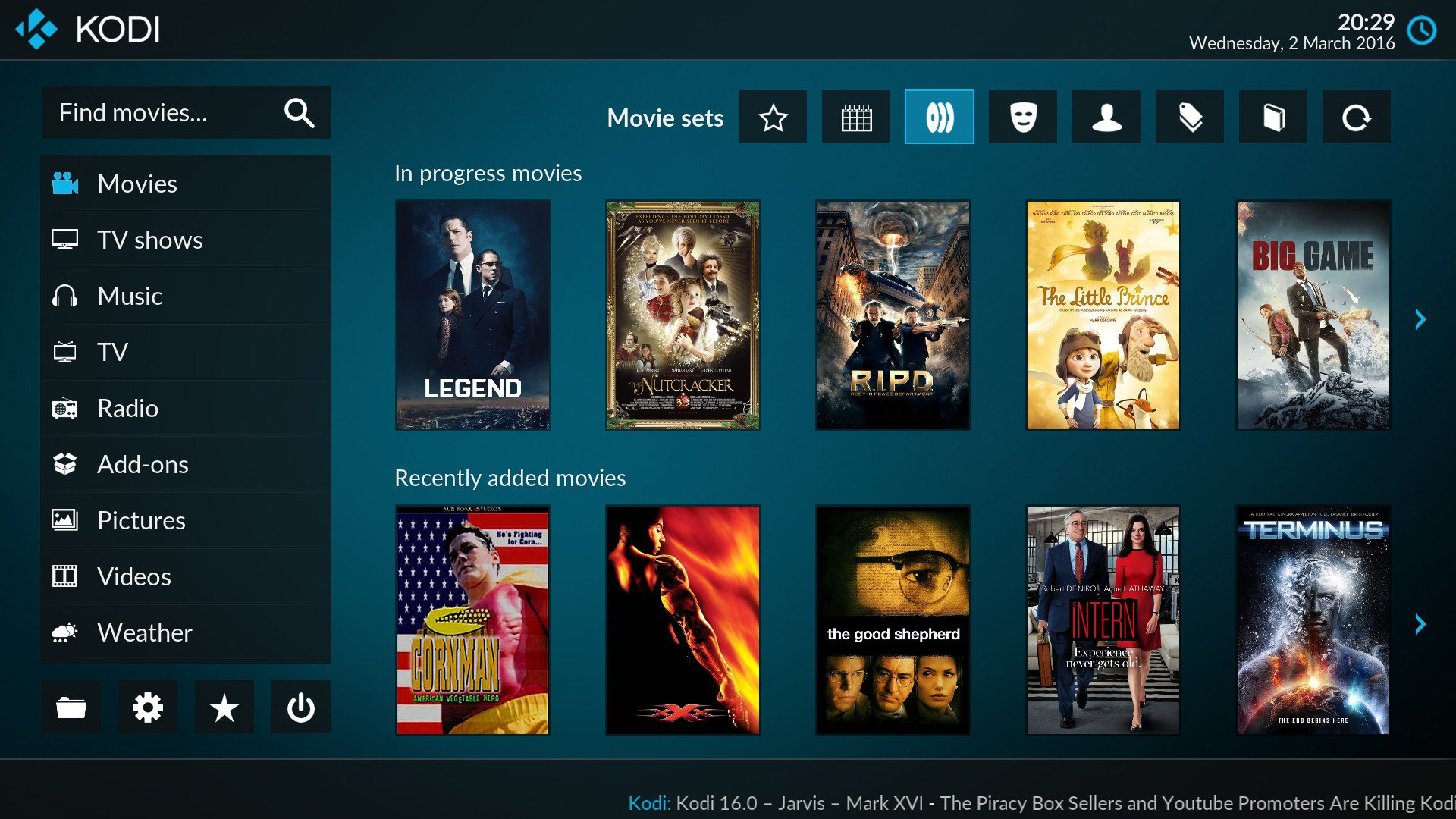 Meet Estuary And Estouchy, The New Default Skins For Kodi